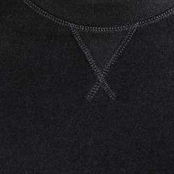 Herensweater met ronde hals voor fitness en pilates gemêleerd - 695063