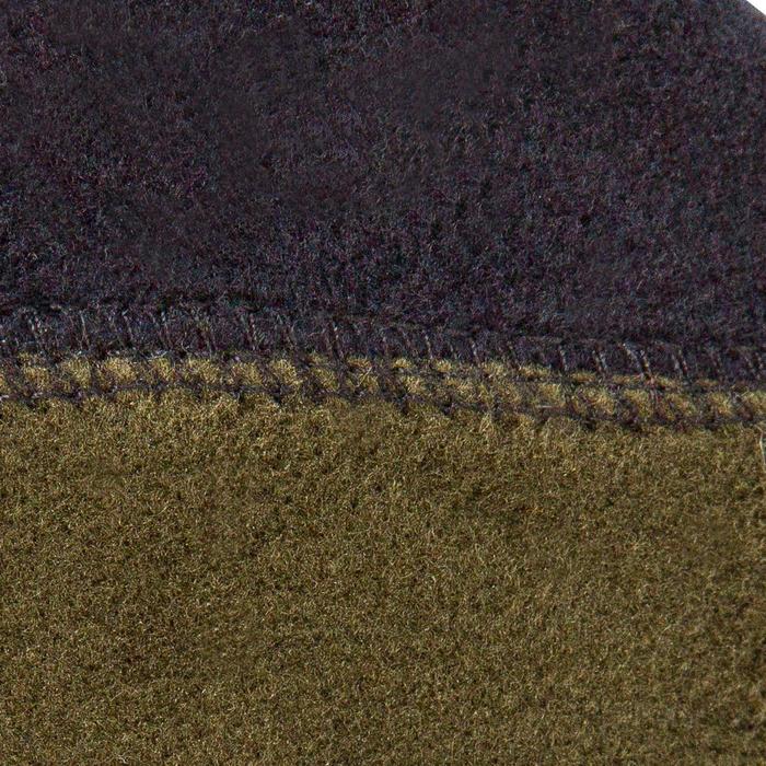 Fleece kousen voor jagers Steppe 500 bruin