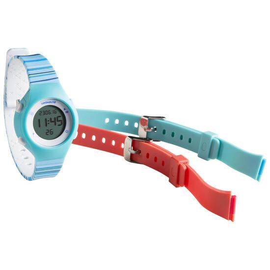 Digitaal sporthorloge voor dames en kinderen W500 S Swip, stopwatch - 695280