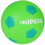 Zelena in modra nogometna žoga SUNNY 300 (velikost 5)
