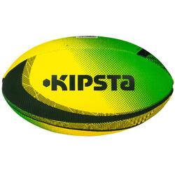 Mini rugbybal Fun Brazil groen/geel