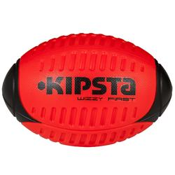 Wizzy Rugby Foam Ball - Size 3 Red