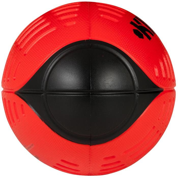 Balón de Rugby Offload Wizzy R100 espuma talla 3 rojo y negro