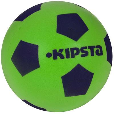 Balón de fútbol Espuma 300 talla 4 verde azul