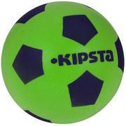 Zelena in modra nogometna žoga iz pene 300 (velikost 4)