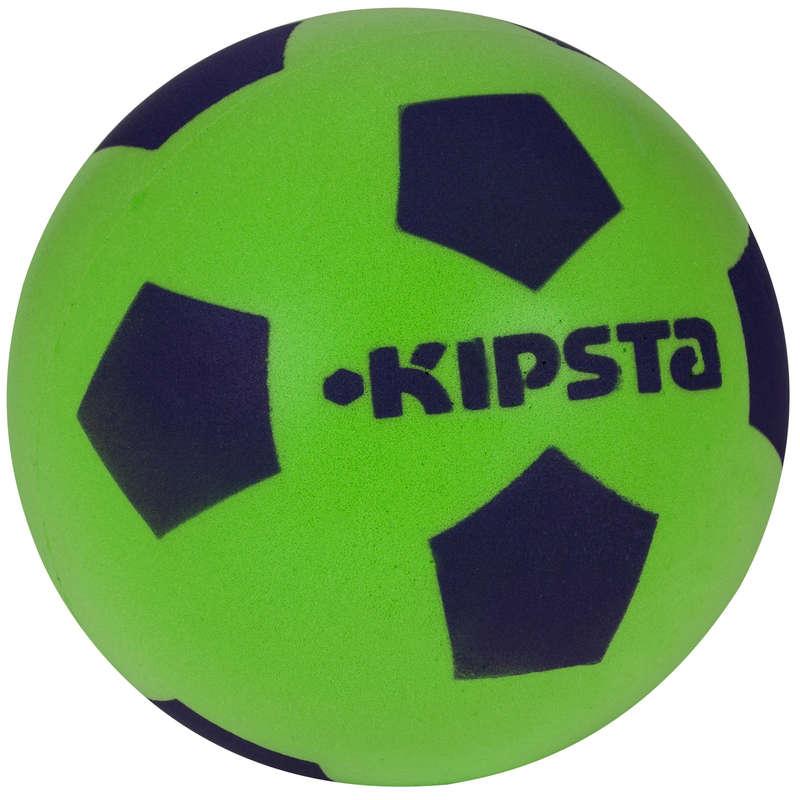 LEARNING FUTSAL BALLS Football - Foam 300 Football Size 5 - Green IMVISO - Football Equipment
