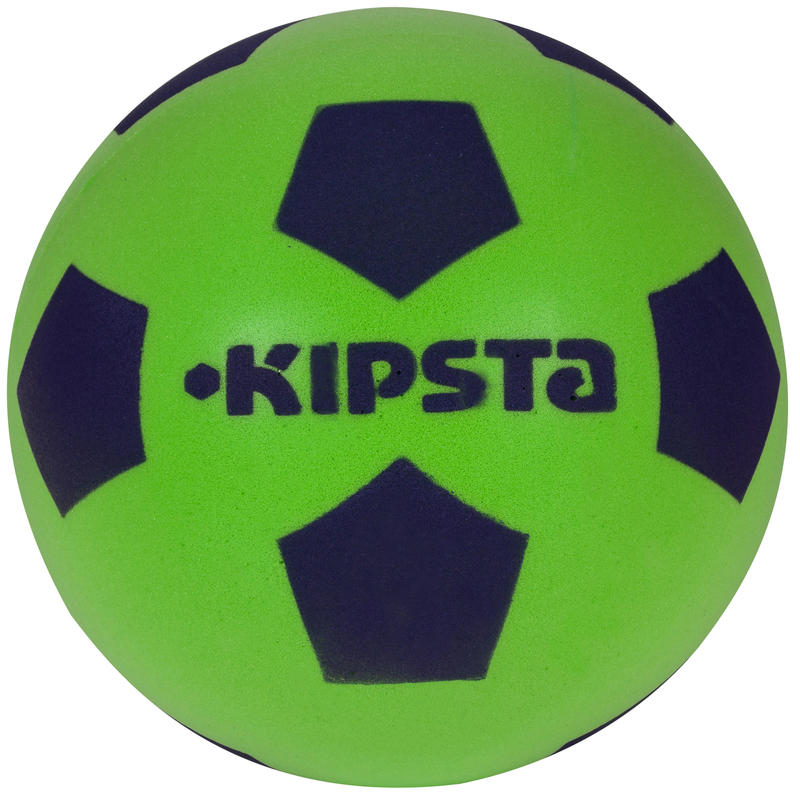 Balón de fútbol Foam 300 talla 4 verde azul