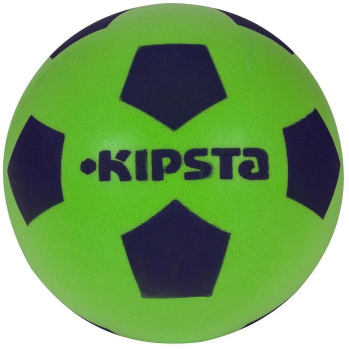 Fußball Foam 300 Größe 4 Schaumstoff grün/blau