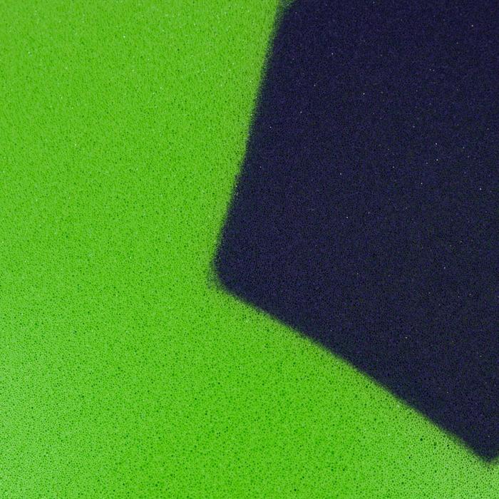 Fussball Foam 300 Schaumstoff Größe 4 grün/blau