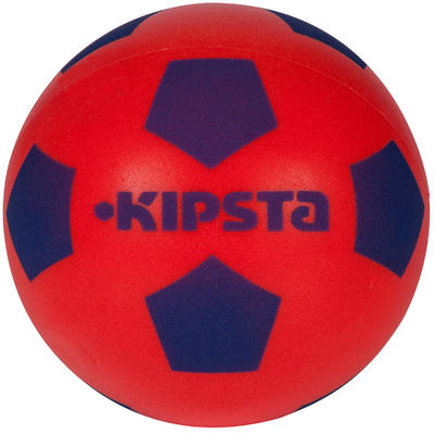 Balón de fútbol Espuma 300 talla 4 rojo azul