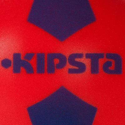 كرة قدم KIPSTA Foam 300 مقاس 4 أحمر/أزرق