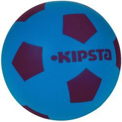 Minibalón de Fútbol Kipsta Foam 300 azul y violeta