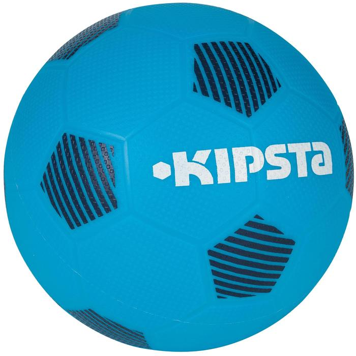 Balón de fútbol Sunny 300 talla 1 azul claro negro