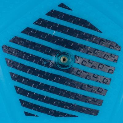 Ballon de football Sunny 300 taille 1 bleu clair noir