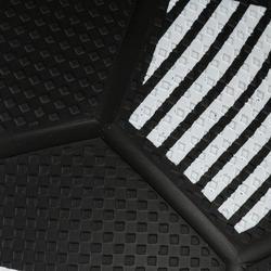 Minibalón de fútbol Sunny 300 talla 1 negro blanco