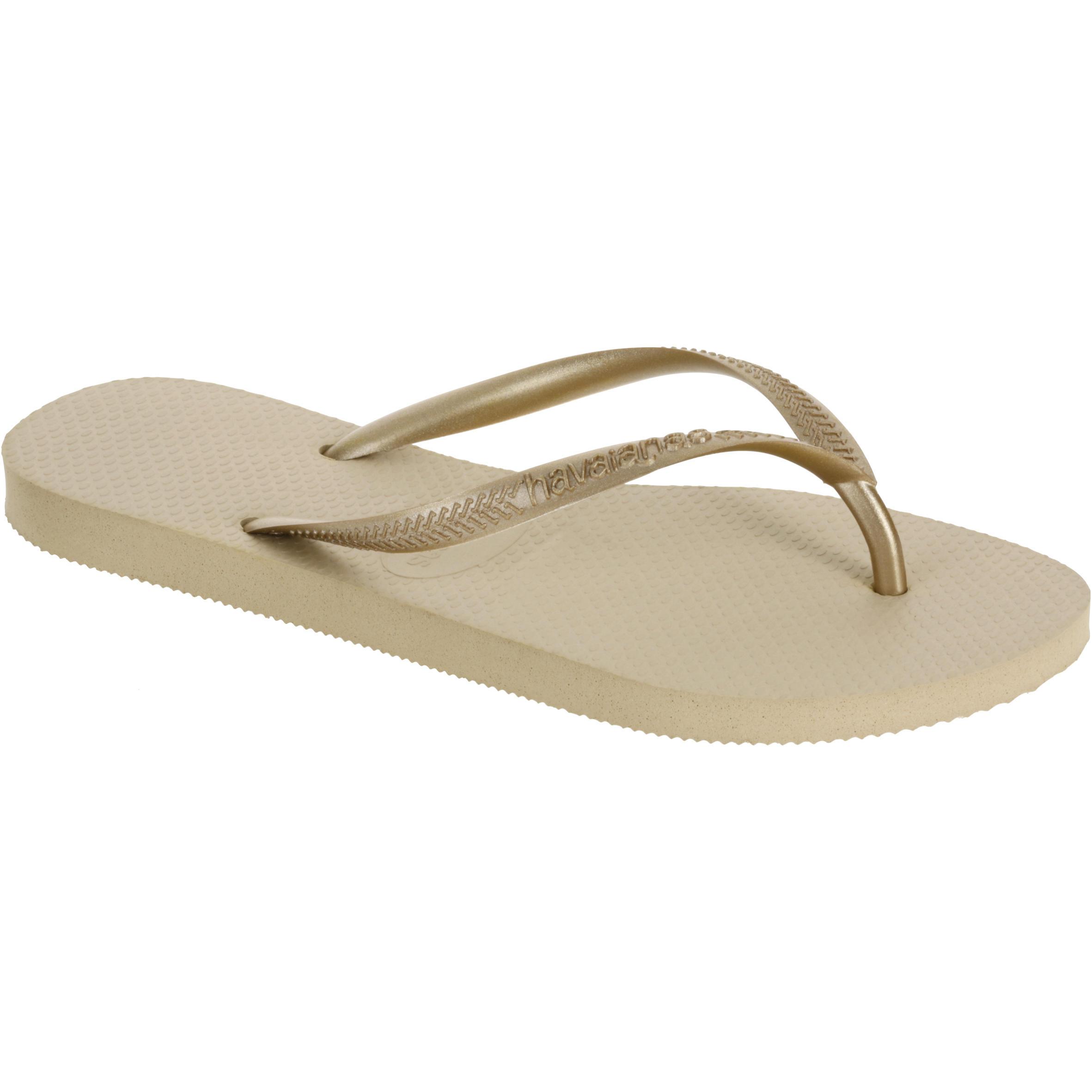 Havaianas SLIM Teenslippers sand grey/light golden
