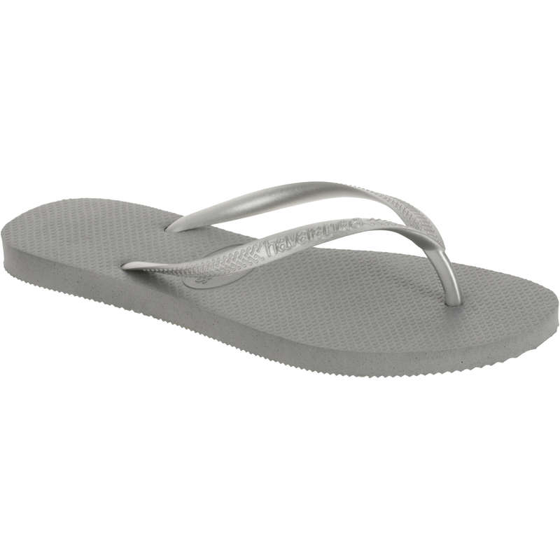 WOMEN'S FOOTWEAR Surf - Slim Flip Flops - Grey HAVAINAS - Surf Clothing