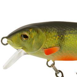 Drijvende kunstvisjes hengelsport Glenroy 70 rivierbaars