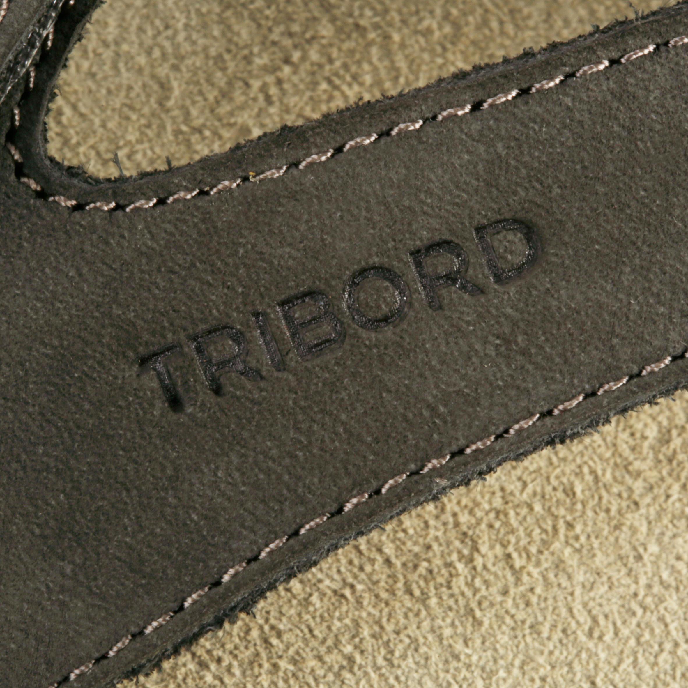 TO 900 W Women's Leather Flip-Flops - Grey