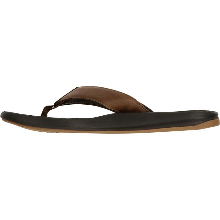 Tongs homme TO 950 M Cuir Marron - 696240