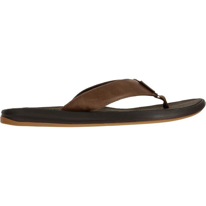 Chanclas De Playa Surf Olaian TO 950 Hombre Piel Marrón