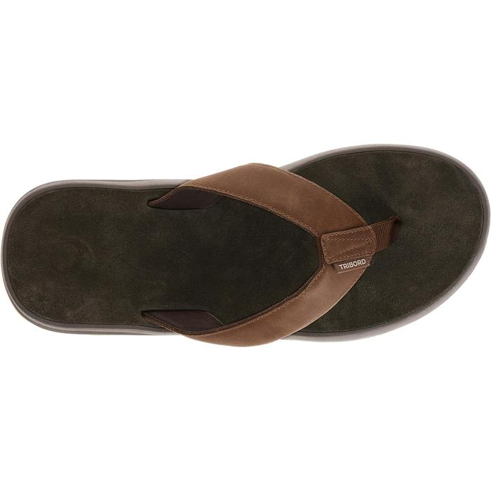 Tongs homme TO 950 M Cuir Marron - 696245