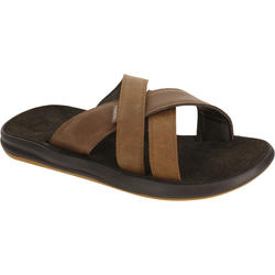 Men's FLIP-FLOPS SLAP 950 Brown Leather
