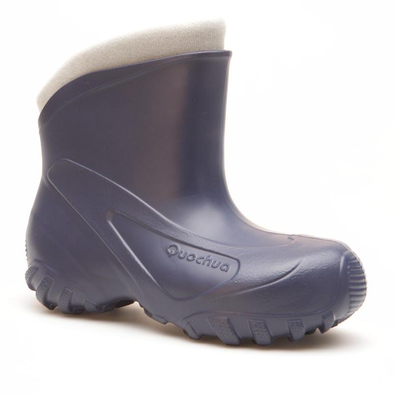 Quechua Arpenaz 50 Warm waterproof children's hiking boots Dark blue