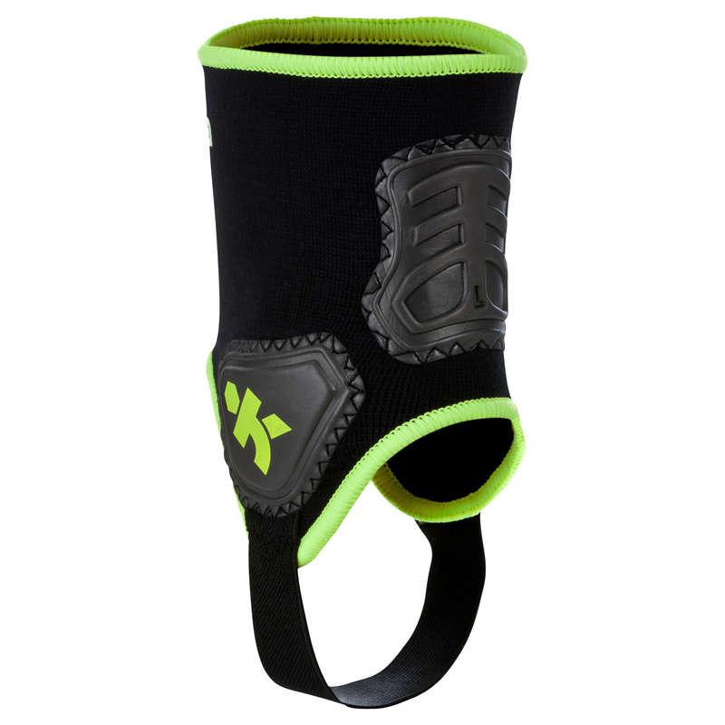 FOOTBALL PADS - Adult Ankle Guard - Black KIPSTA