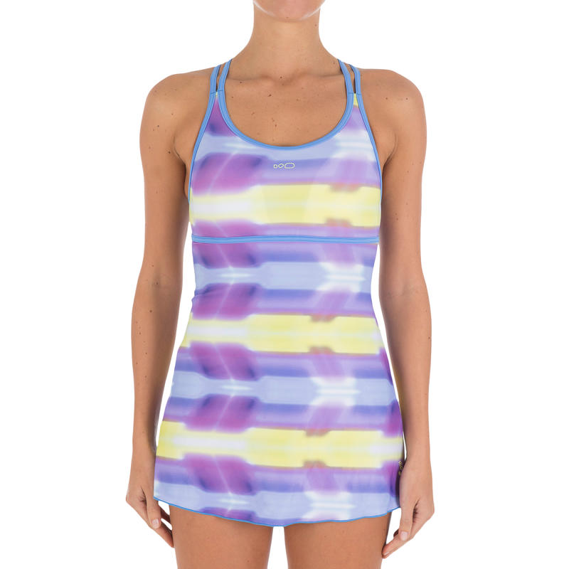 Riana Dress Alldye Women's One-Piece Swimsuit - Blue