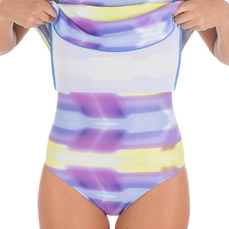 Riana Dress Alldye Women's One-Piece Swimsuit - Blue