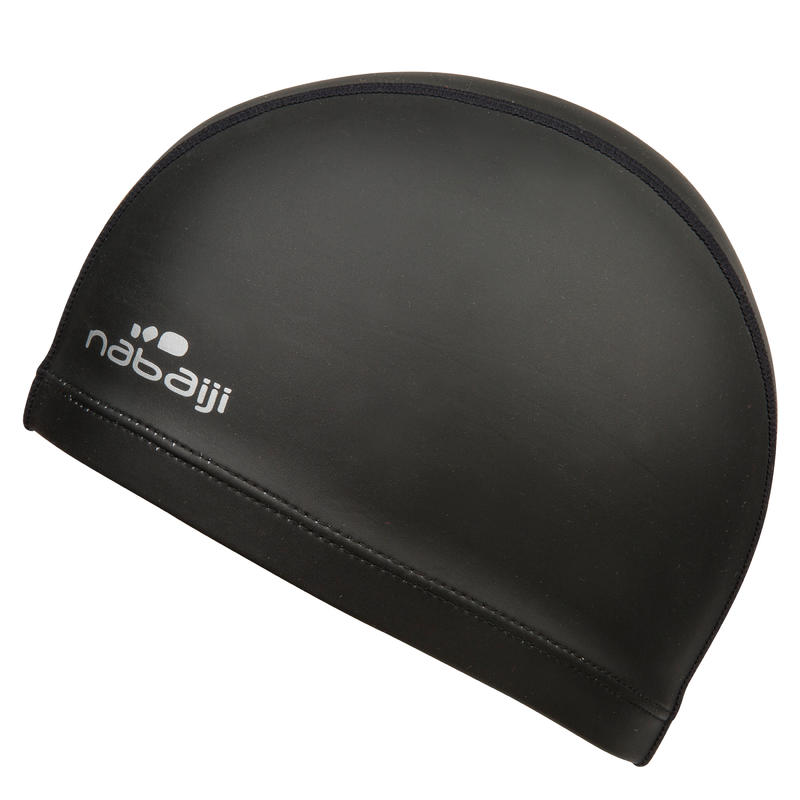 Swim Cap Silimesh- Black