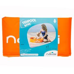 Petite piscine autoportante enfant TIDIPOOL BASIC orange