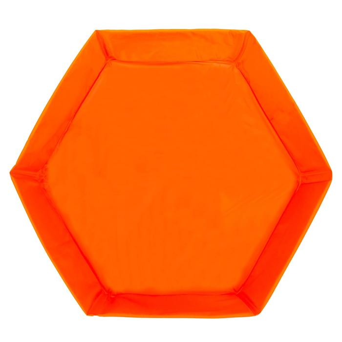 Piscinette enfant TIDIPOOL BASIC orange - 697236