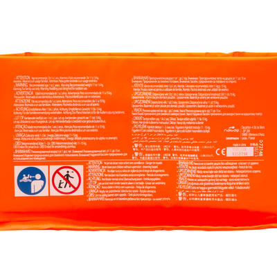 TIDIPOOL BASIC 65 m diameter foam paddling pool for infants - Orange