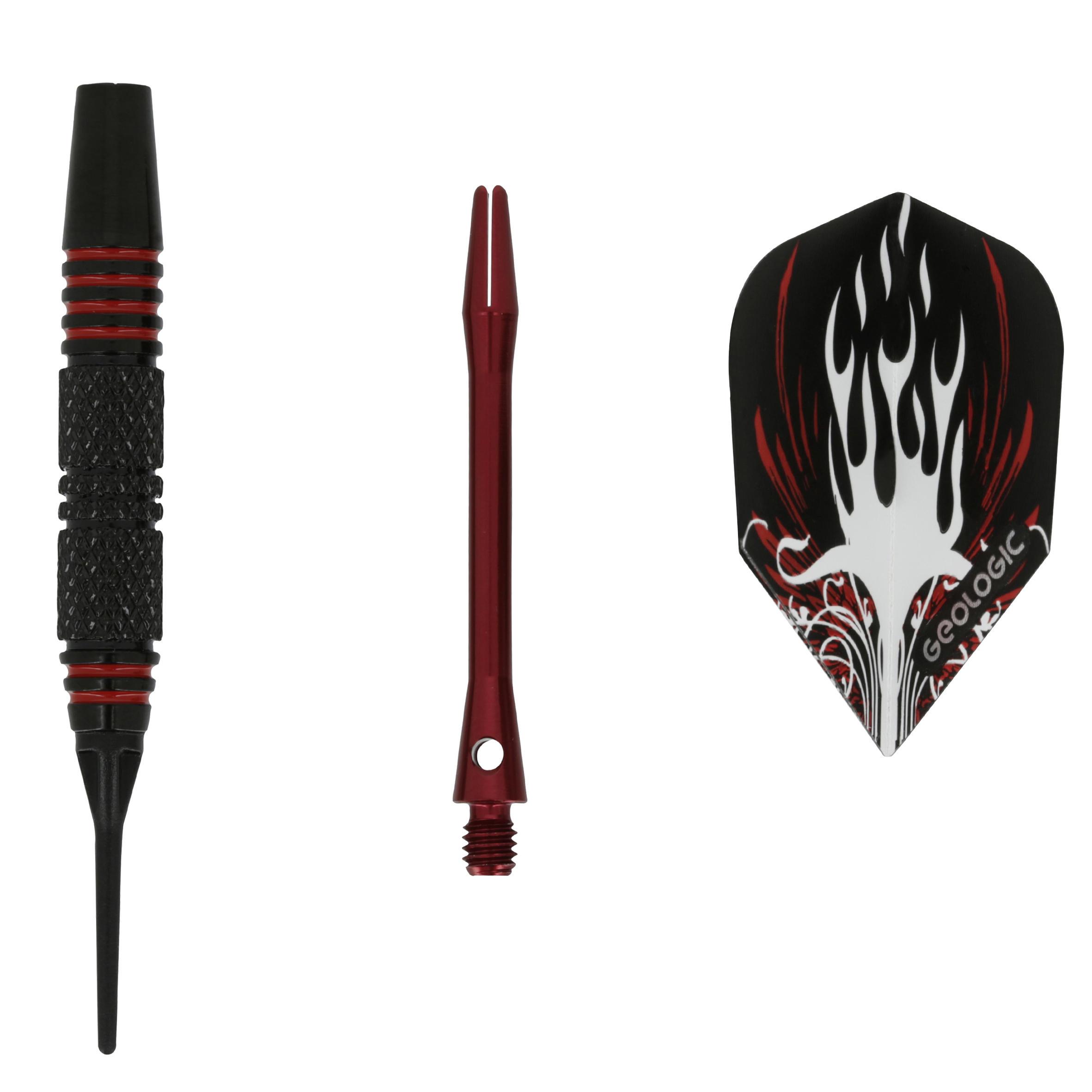 3 Falcon 500 Electronic Dartboard Darts