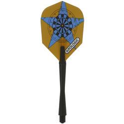 3 dartpijltjes Falcon 300, plastic punt - 697415