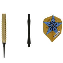 3 dartpijltjes Falcon 300, plastic punt - 697417
