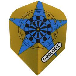 3 dartpijltjes Falcon 300, plastic punt - 697419