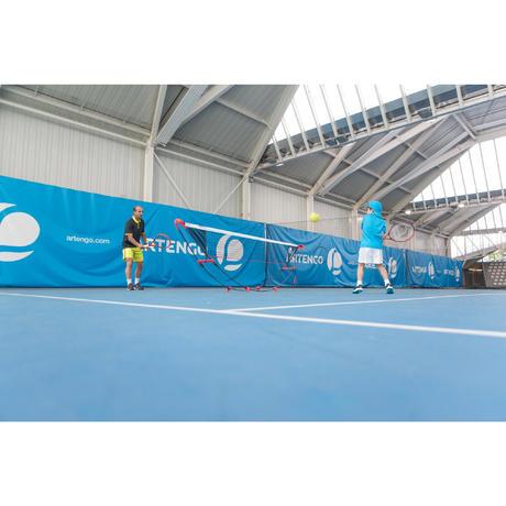 Filet de tennis 3metres rapide et modulable en hauteur for Dimension filet de tennis