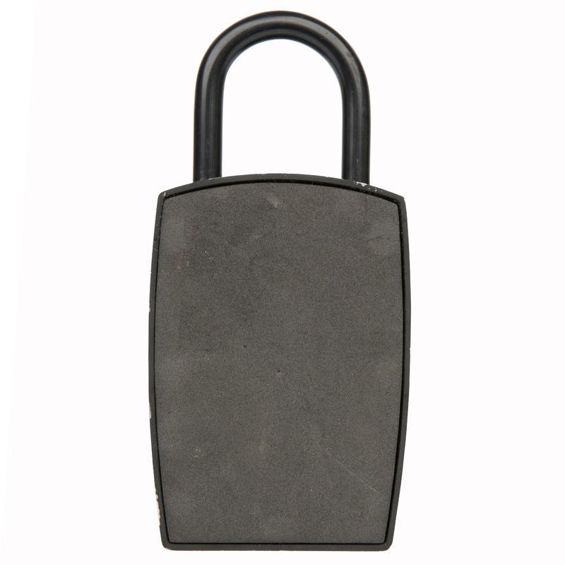 Minicaja fuerte con código para guardar una llave.