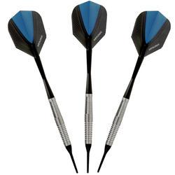 3 dartpijltjes Ariane 700, plastic punt