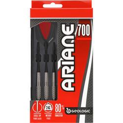3 dartpijltjes Ariane 700, stalen punt - 697680