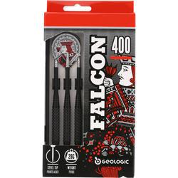 3 dartpijltjes Falcon 400, stalen punt - 697717