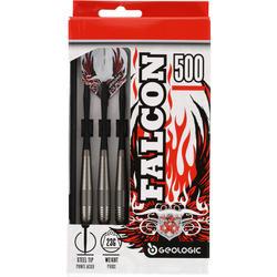 3 dartpijltjes Falcon 500, stalen punt - 697729