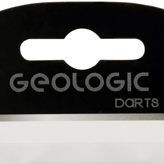3 standaard dartflights Lion grijs