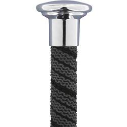 Rijzweep voor ruitersport Classic zwart 65 cm - 697813