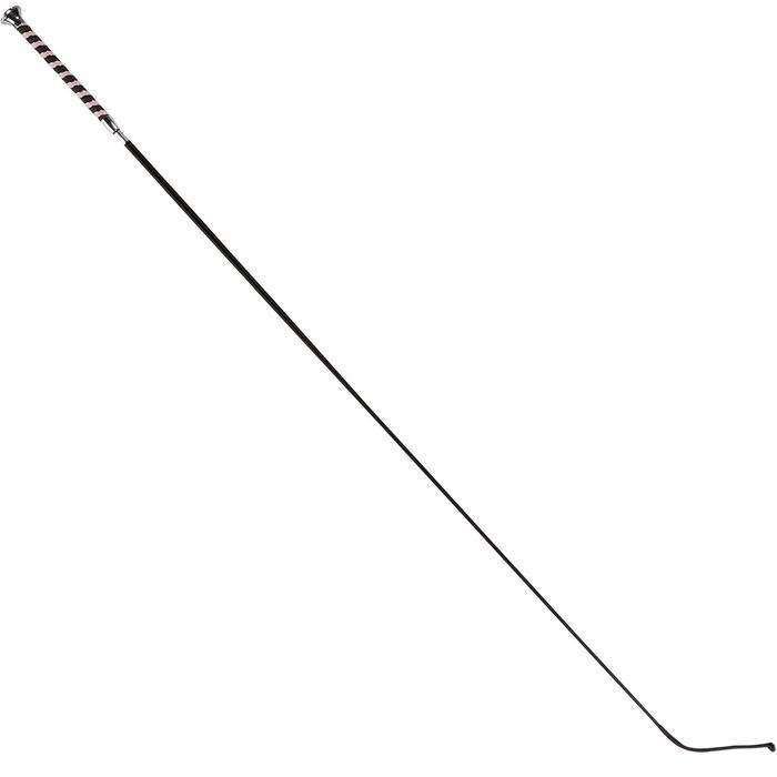 Cravache dressage équitation GIFT 120 cm rose - 697893