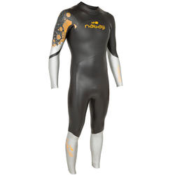 Heren zwempak in neopreen 4/3 mm voor koud open water