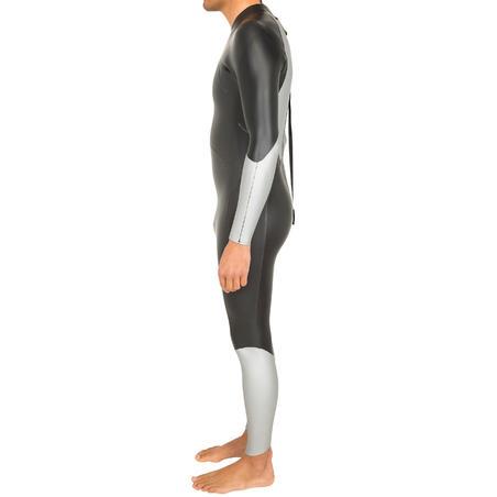 Traje de natación neoprén natación en aguas abiertas OWS550 4/3 mm hombre